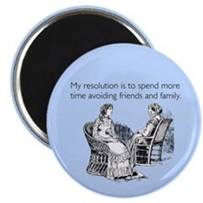 Avoiding Friends & Family Magnet