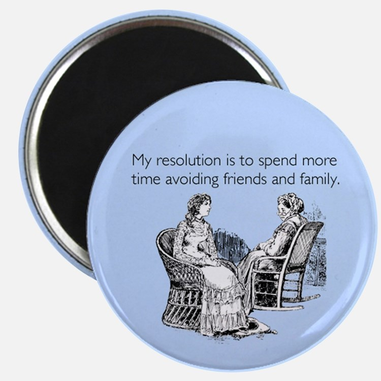 Avoiding Friends & Family Magnet