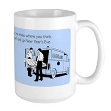 New Years Ambulance Mug