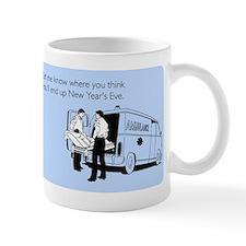 New Years Ambulance Small Mugs
