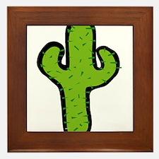 Cactus103 Framed Tile