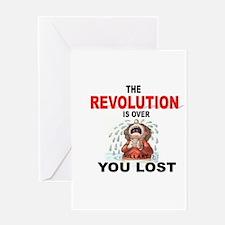 REVOLUTION Greeting Cards