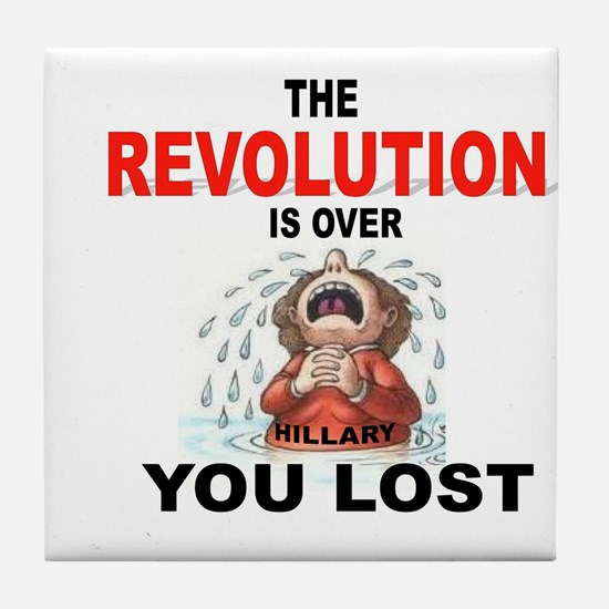 REVOLUTION Tile Coaster