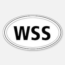 Welsh Springer Spaniel Oval Decal