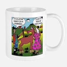 Collecting Manure For Berries Mug