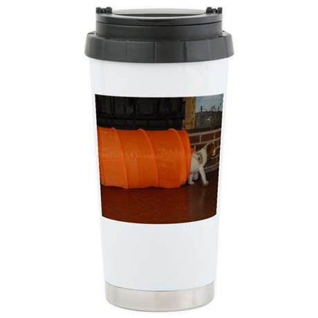 Puppy Agility Stainless Steel Travel Mug