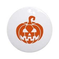 Halloween pumpkin Ornament (Round)