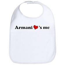 Armani loves me Bib