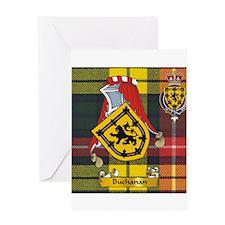 Buchanan Scottish Name Greeting Card
