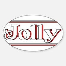 Jolly Sticker (Oval)