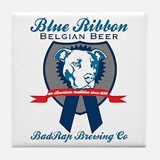 Blue Ribbon Tile Coaster