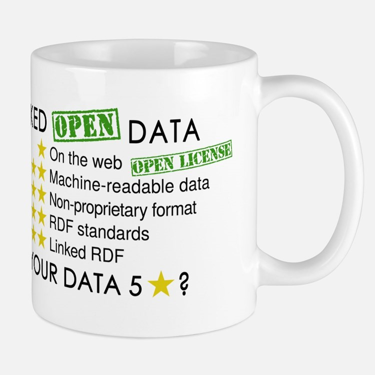 5 Star Linked Open Data mug
