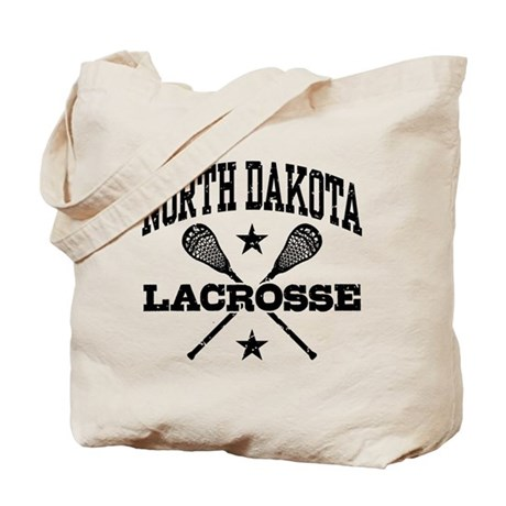 North Dakota Lacrosse Tote Bag