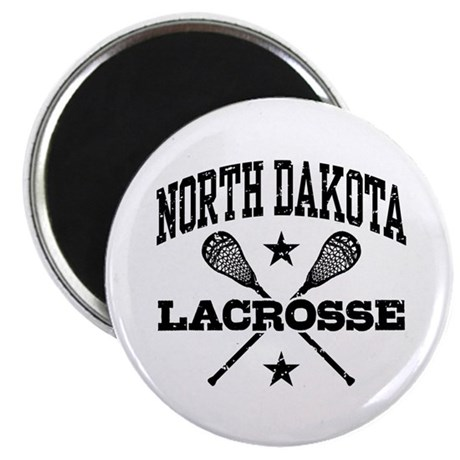 North Dakota Lacrosse Magnet