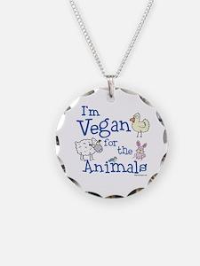 Vegan for Animals Necklace