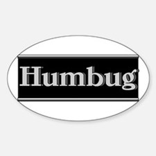 Humbug Sticker (Oval)
