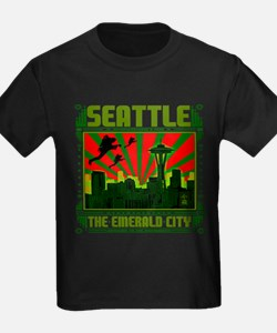 SEATTLE THE EMERALD CITY T