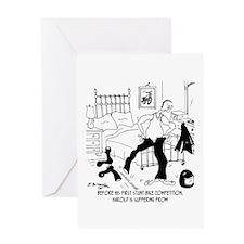 Pre Traumatic Stress Greeting Card