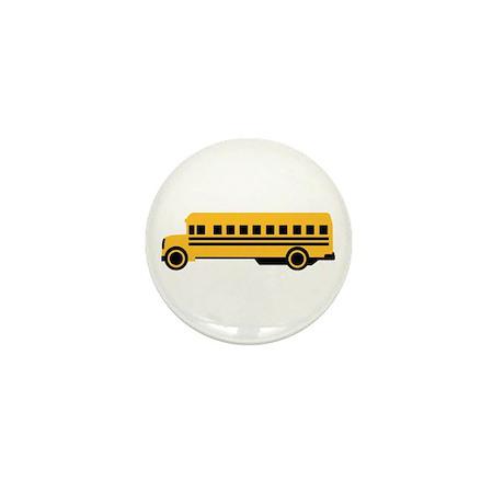 School bus Mini Button