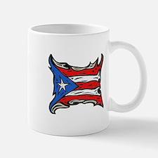 Puerto Rico Heat Flag Small Small Mug