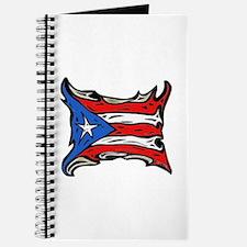 Puerto Rico Heat Flag Journal