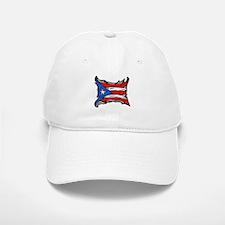 Puerto Rico Heat Flag Baseball Baseball Cap