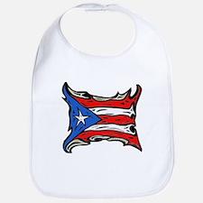 Puerto Rico Heat Flag Bib