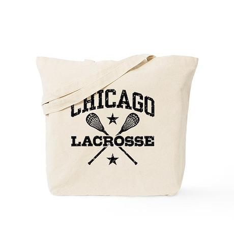 Chicago Lacrosse Tote Bag