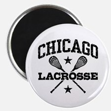 Chicago Lacrosse Magnet