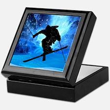 Cute Winter sports Keepsake Box