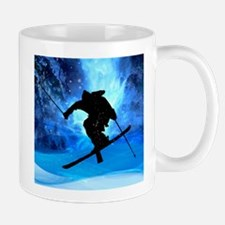 Unique Skier Mug