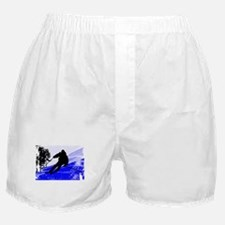 Cute Ski Boxer Shorts