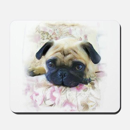 Pug Dog Mousepad