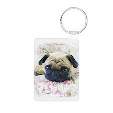 Pug Dog Keychains