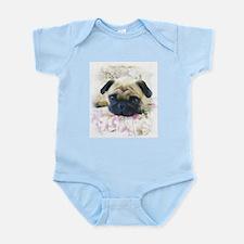 Pug Dog Infant Bodysuit