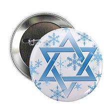 "Star of David 2.25"" Button"