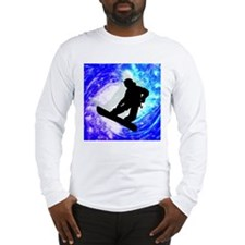 Cute Snow boarding Long Sleeve T-Shirt