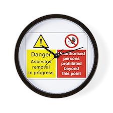 Asbestos Wall Clock
