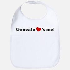 Gonzalo loves me Bib