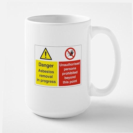 Asbestos Large Mug