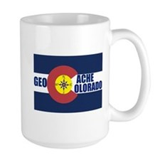 Geocache Colorado Mug