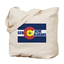 Geocache Colorado Tote Bag