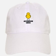 Accordion Chick Baseball Baseball Cap