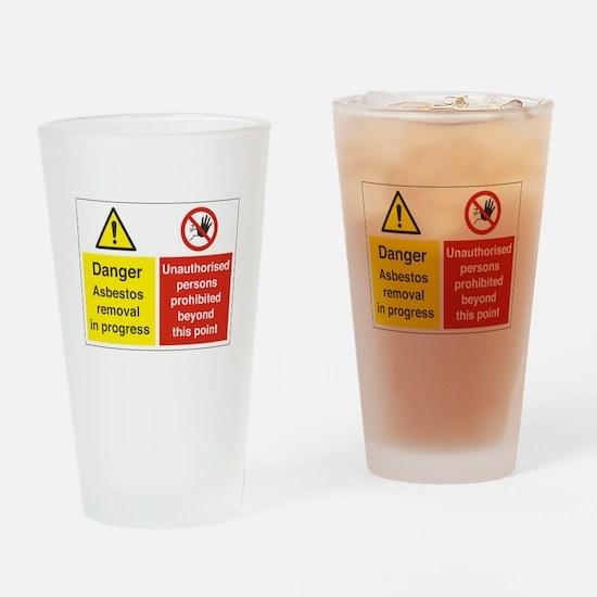 Asbestos Drinking Glass