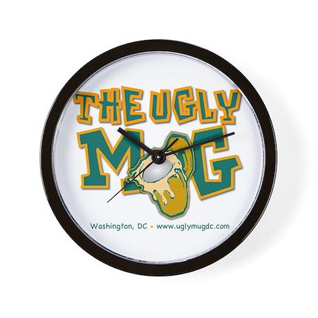 The Ugly Mug Wall Clock