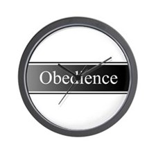 Obedience Wall Clock