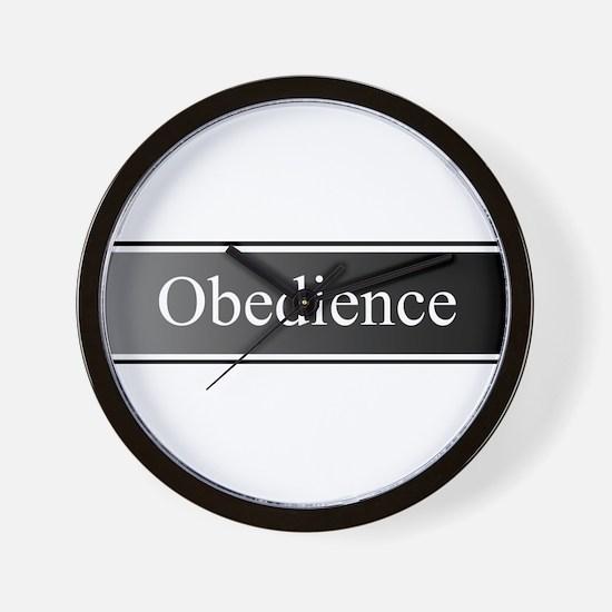 Obedience Wall Clock