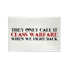 Class Warfare Rectangle Magnet