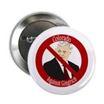 Colorado Against Gingrich campaign button