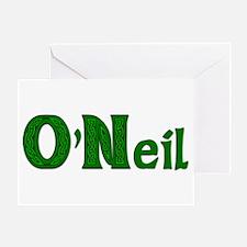 Family O'Neil Greeting Card
